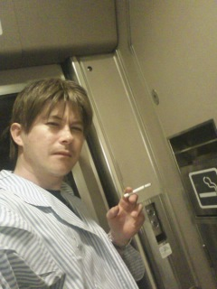 喫煙所でちょいと一服