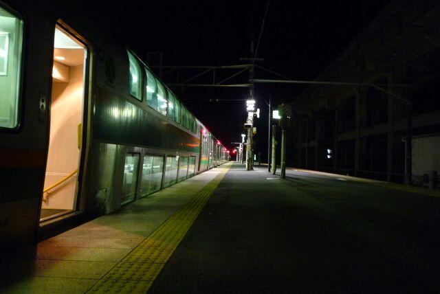 最終…小金井駅