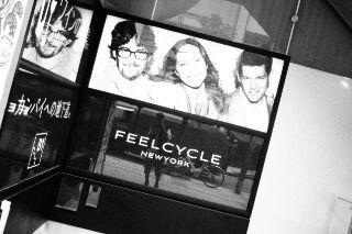 FeelCycle NewYork…の汗で